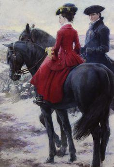 Cathy and Heathcliff - by Christian Birmingham   Born 1970