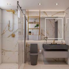 Bathroom design on point 😍👌🏻😍 . by Flooring Washroom Design, Toilet Design, Bathroom Design Luxury, Modern Bathroom Design, Small Toilet Room, Small Bathroom, Best Bathroom Designs, Amazing Bathrooms, Bathroom Inspiration