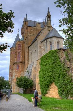 Burg Hohenzollern is a private castle near Stuttgart, Germany - by Paul Vo