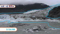 350 päivää ja jäätikön liike. U-laakson synty