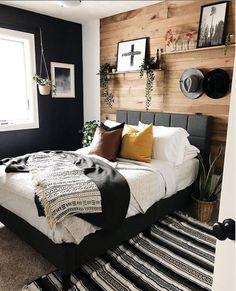 Home Decor Bedroom .Home Decor Bedroom Dream Bedroom, Home Decor Bedroom, Bedroom Ideas, Tiny Master Bedroom, Guy Bedroom, Peach Bedroom, Green Bedroom Decor, Bedroom Romantic, Black Bedroom Furniture