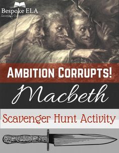 Macbeth Scavenger Hunt: Making Real World Thematic Connections