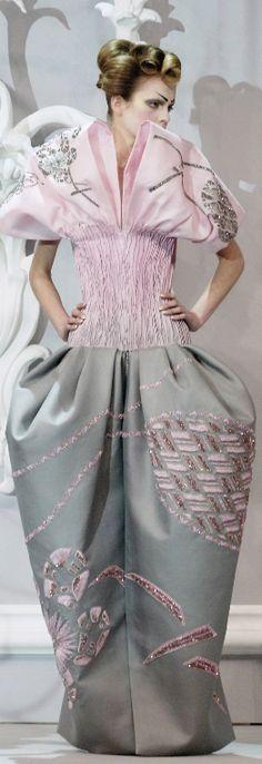 Kimono-Inspired Christian Dior Haute Couture Spring 2007