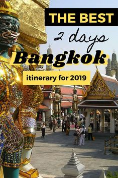 2 Days in Bangkok - The best two day Bangkok itinerary - This Bangkok travel guide has the perfect itinerary for a short city break in the Thai capital. Bangkok Travel Guide, Thailand Travel Tips, Visit Thailand, Bangkok Thailand, Asia Travel, Bangkok Itinerary 4 Days, Travel Packing, Thailand Vacation, Thailand
