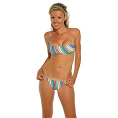 Rosa Cha Sais junior womens Floral brazilian cut Bikini Swim set