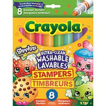 Crayola 8ct Shopkins Stamper Markers