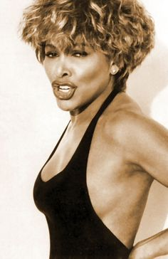 Tina Turner she fought off a bad man, a bad marraige and became one of the diva's of women in music.  You can hear her heart and soul in her music and has a sound that is unique to her.  She is a role model and mentor to many and I adore her