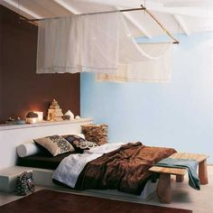 blue and brown wall paint colors