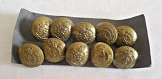 10 Vintage RCAMC Canadian Medical Corps J.R. Guant and Sons, Montreal, Military Buttons by TreasureCoveAlly on Etsy