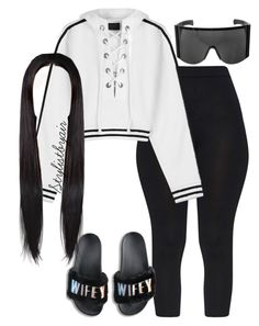 """Untitled #6765"" by stylistbyair ❤ liked on Polyvore featuring Puma"