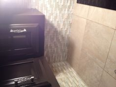 DIY backsplash love the cabinets too!!! :)