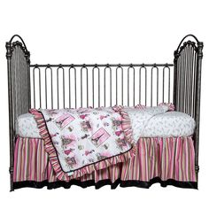 Have to have it. Waverly Baby Tres Chic 3 Piece Crib Bedding Set - $118.18 @hayneedle