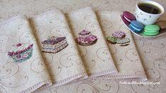 Nelli: Пирожные от Парижских вышивальщиц / Pâtissier Les Brodeuses Parisiennes