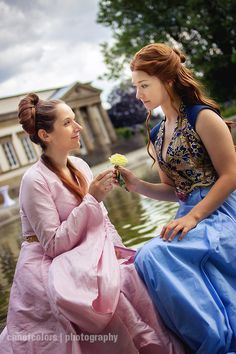 Margaery and Sansa by blue-potions.deviantart.com on @deviantART
