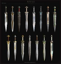 ArtStation - RYSE, Timur Mutsaev | Various Roman Swords