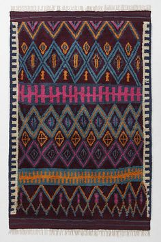 Gypsy Interior Design Dress My Wagon| Serafini Amelia| Travel Trailer Decor-Agadir Twists Rug #anthropologie