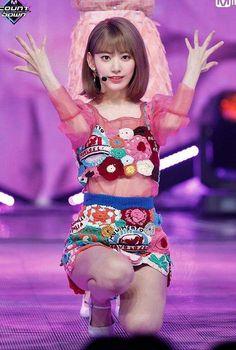 Stage Outfits, Kpop Outfits, Sakura Miyawaki, Korean Music, Pink Love, Colorful Fashion, Kpop Girls, My Idol, Girl Group
