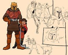 Star Wars Poster, Star Wars Art, Tusken Raider, Mandalorian Armor, Avatar The Last Airbender Art, War Comics, Star Wars Pictures, War Image, The Phantom Menace