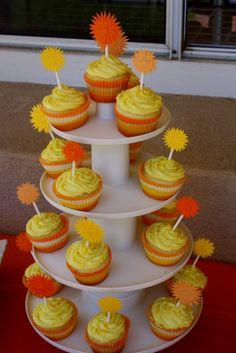 sunshine Birthday Cake Pops | ... Sweet Life Studio: Ellas You are my ...