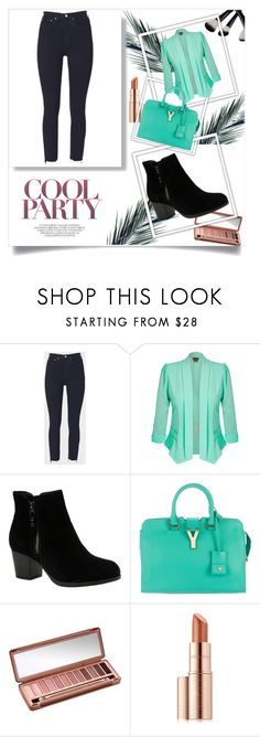 """shopping"" by dijana1786 ❤ liked on Polyvore featuring RE/DONE, City Chic, Skechers, Yves Saint Laurent, Urban Decay and Estée Lauder"