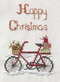 Derwentwater Designs Weihnachten Kreuzstich Card Kit/ /Let it Snow