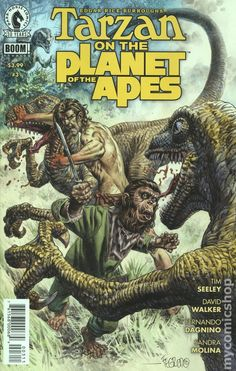 Tarzan on The Planet of the Apes (2016) 3