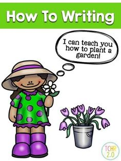It is your turn to be the teacher! You need to write directions to teach someone how to plant a garden. Perfect writing assignment if you study plants!This product includes:DirectionsBrainstorming sheetCover PageVarious graphic organizers to write steps and draw picturesFinal Copy SheetsPeer Editing SheetRubricThese sheets are full pages for older students and half sheets so the younger kids can make mini-books.Thanks for your interest!