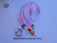 Music & Food Bookmark by DeemakTwins on Etsy