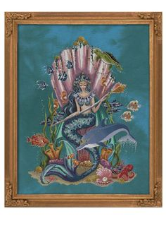 Cross Stitch Letters, Cross Stitch Art, Cross Stitch Designs, Cross Stitching, Stitch Patterns, Mill Hill Beads, Goddess Of The Sea, Stitch Doll, Greek Gods