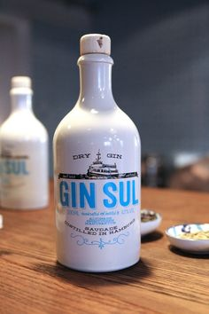 Gin Sul, Portuguese - German Gin, my favourite gin. Very hard to get outside of Germany right now. No. 1 selling Gin in Hamburg