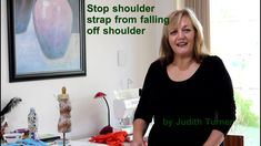 How annoying is it when your shoulder strap falls off your shoulder? Use this really simple and easy method to secure the shoulder strap to your bra strap. B...