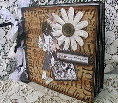 TPHH Debi Premade pages chipboard book Scrapbook Mini Photo album not paper bag  #PrimaMarketing