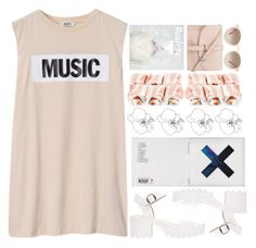 """music is the answer"" by maemaew ❤ liked on Polyvore"