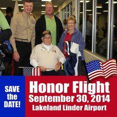Honor Flight Lakeland Linder Airport FL