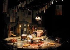Napoli Milionaria. Milwaukee Repertory Theatre. Scenic design by Michael Ganio. 2003