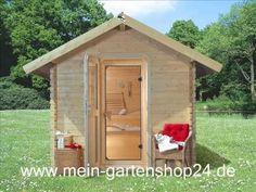 Karibu Gartensauna Bosse mit Vorraum | sauna.koempf24.de