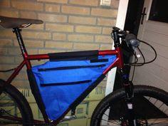 Make your own gear (MYOG) Bikepacking frame bag Cycling Bag, Frame Bag, Make Your Own, Gears, Bicycle, Pattern, Sewing, Bags, Bike