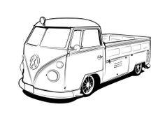 330 best volkswagen images volkswagen beetles vw beetles vw bugs VW Bus Magazines deviantart flatfourdesign s journal jeep drawing line illustration garage art car drawings