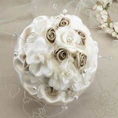 Taupe Rose Bouquet wedding bouquet