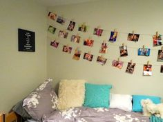 On the line: A different way to hang pictures in your dorm | USA TODAY College