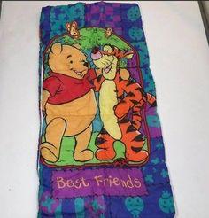 Disney Winnie the Pooh &Tigger youth sleeping bag. Slumber Parties, Sleepover, Disney Winnie The Pooh, Sleeping Bag, Tigger, Best Friends, Youth, Party, Bags