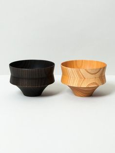 Made from Japanese Zelkova wood, this artful wooden bowl is hand lathed and lacquered by hand in Yamanaka, Japan.