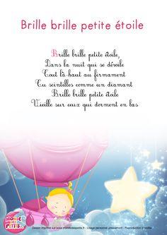 Paroles_Brille, brille, petite étoile