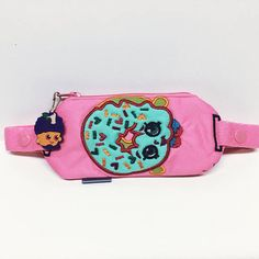 Insulin pump pouch / shopkins doughnut with sprinkles on top