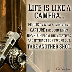 Why I love photography so much...it's life.