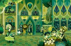 The Wonderful Wizard of Oz. Illustrations by Lorena Alvarez Art And Illustration, Illustrations, Wizard Of Oz Book, Wizard Oz, Cartoon Styles, Cartoon Fun, Fairy Tales, Concept Art, Wonderland