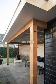 Douglas palen Icm schilderwerk Gazebo, Outdoor Pergola, Outdoor Decor, Modern Shed, House Extension Design, Backyard Bar, Container House Plans, Beautiful Houses Interior, Garden Studio