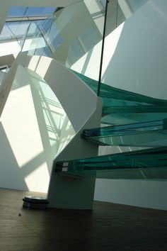 Glasstiege, Biedermeierhof, Design : project-m, M. Staircases, Opera House, Building, Projects, Design, Log Projects, Ladders, Stairs, Buildings
