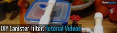 I bet it's way more effective since your the one making it! : DIY : How To Make Your Own Canister Filter