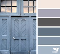 color palette - a door tones